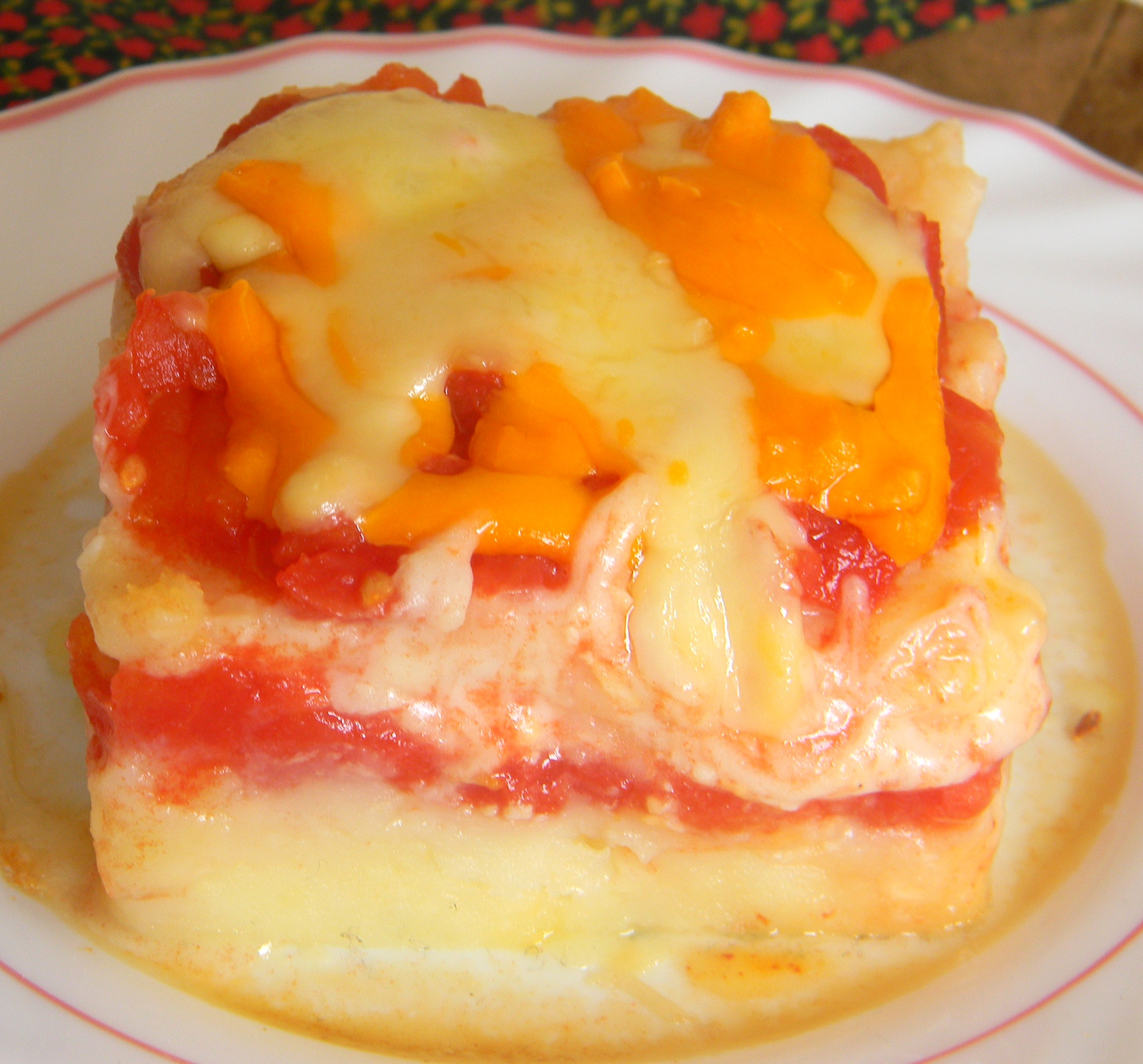 Patatas-Tomato-Cheese-Pie
