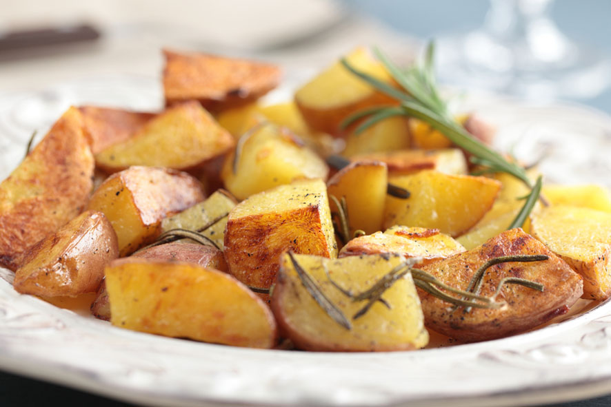 patatas-rosemary cortada