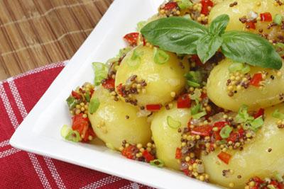 Ensalada de patatas Monalisa a la mostaza