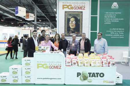 Empresa de patatas en Fruit Attraction