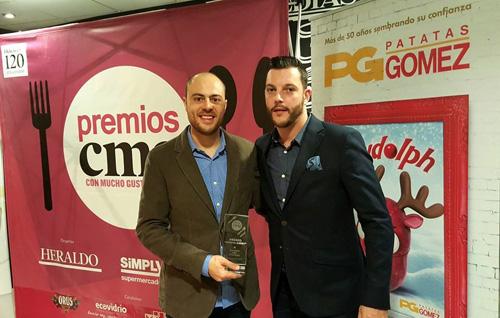 Premio CMG Patatas Gómez al Cocinero más innovador