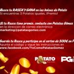 Gana 500 euros con Potato