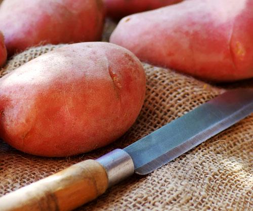 Cortes de patatas: chascar patatas