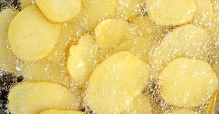 freir patatas