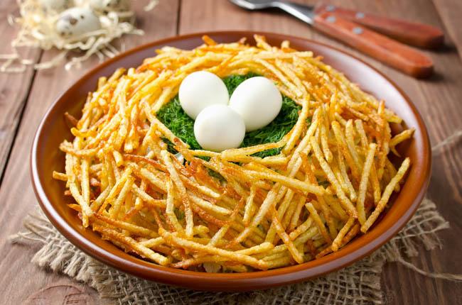 Cortes de patatas: patata cerilla