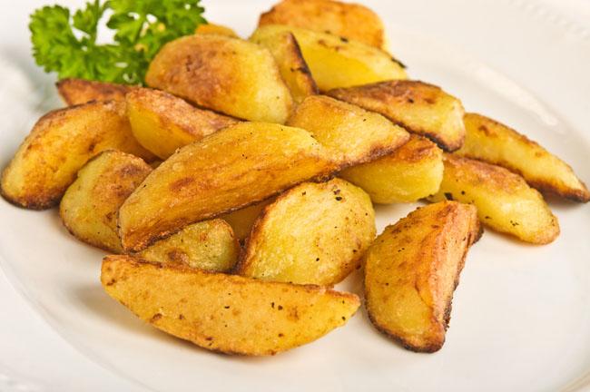 Cortes de patatas: patatas gajo
