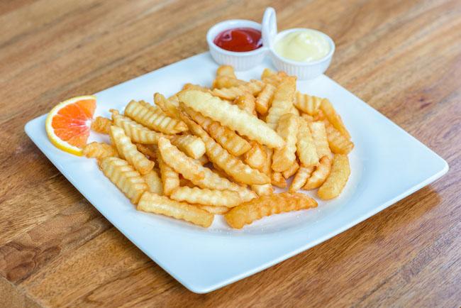Cortes de patatas: patatas onduladas