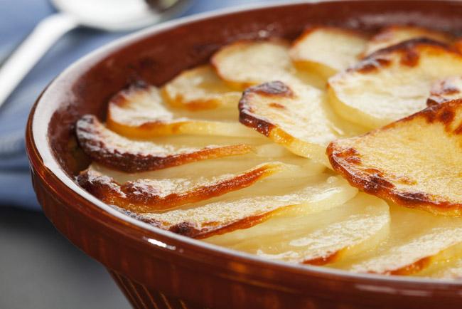 Cortes de patatas: patatas panadera