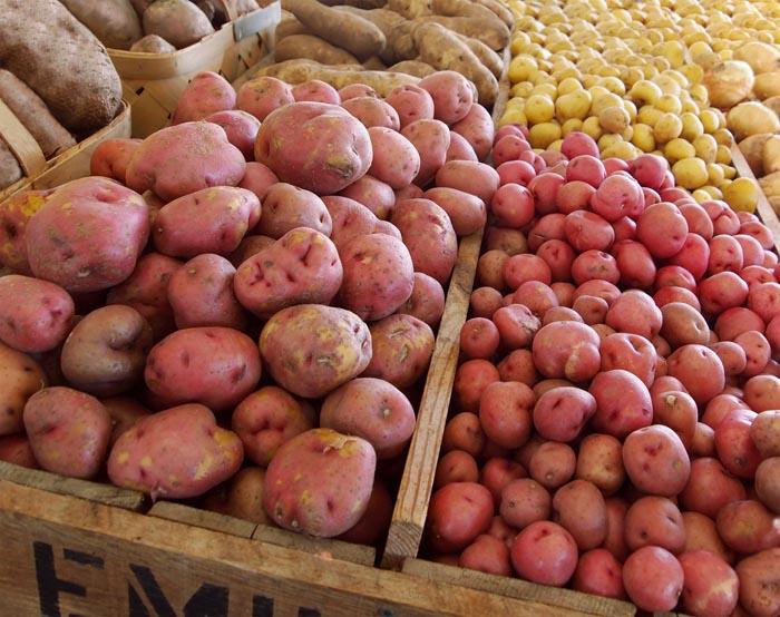 Comprar patatas
