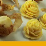 Rosas de patata.