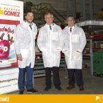 Visita a Patatas Gómez del consejero de Desarrollo Rural y Sostenibilidad del Gobierno de Aragón, Joaquín Olona