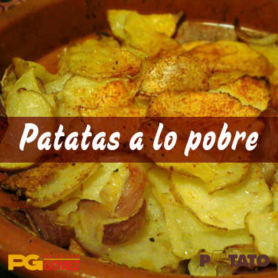 cómo hacer patatas a lo pobre